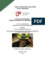 En 2015 Ocho Mineros Murieron en Accidentes Laborales en El Perú