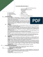 Silabo de Direccion CoralI-2014. Sem.I