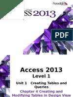 BM Access2013 L1 C4 Presentation