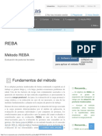 Método REBA - Rapid Entire Body Assessment