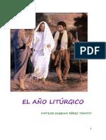 Pérez, M. E., El Año Litúrgico