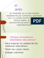 EstanDares De caliDad Educativa