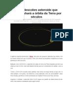 Nasa descobre asteroide que acompanhará a órbita da Terra por séculos.docx