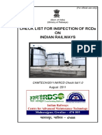 Checklist for Inspection of RCDs on Indian Railways(1)