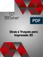 Dicas e Truques Para Impressão 3D