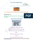 IEO Sample Paper