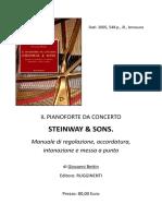 Il Pianoforte Da Concerto STEINWAY & SONS - Manuale