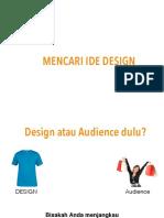 1. Mencari Ide Design