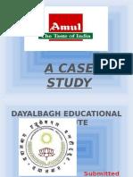 Amul Case Study