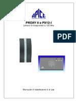 Apice- Proxy II e Px12-i Manuale
