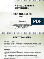 Heat Transfer energy conversion