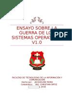Ensayo sobre LA GUERRA DE LOS SISTEMAS OPERATIVOS V1.docx