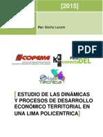 Informe Sistematizacion DEL Dinamicas y Procesos de DEL en Una Lima Policentrica 1