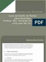 Decima Clase Tecnicas de Analisis de Relaciones Unmsm 2013