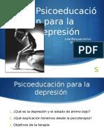 Psicoeducacion Depresión