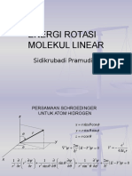 P08 Energi Rotasi Molekul Linear