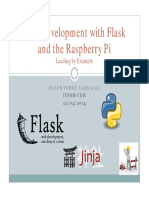 Web Development With Flask and the Raspberry Pi