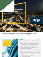 Fintech Adoption Index Germany E&Y 2016