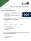 Cuestionario Intoxicación por Medicamentos en el SU Sin resp