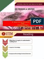 Teaching Reading Writing