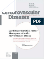 CV Risk Factor of Stroke