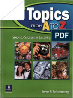 Topics from A to Z Steps to Success in Listening and Speaking (Book 1).pdf
