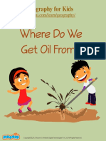 Where Do We Get Oil From? - Mocomi Kids