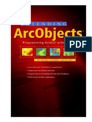 ESRI extending arcobjects   Component Object Model   Arc Gis