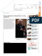 """""""Cipri"""", el tabernero de """"Águila Roja"""", en un bar de Tazones - La Nueva España - Diario Independiente de Asturias"""