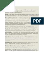 financial terms