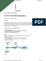 Ccna Nat Sim Question 1