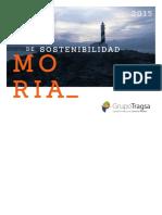 Memoria Sostenibilidad Grupo Tragsa 2015