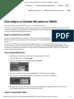 Cómo Configurar Un Controlador MIDI Genérico en TRAKTOR