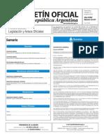 Boletín Oficial de la República Argentina, Número 33.417. 13 de julio de 2016