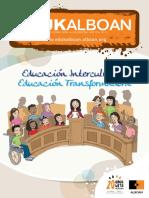 Edukalboan nº 15 Educación Intercultural, educación transformadora