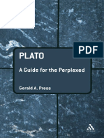 (Guides for the Perplexed ) Gerald a. Press-Plato_ a Guide for the Perplexed (Guides for the Perplexed) -Continuum (2007)