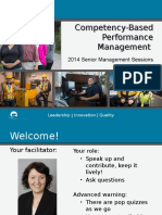 Competency-Based Performance Management 2014 2
