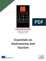 Essentials on GastroTourism
