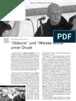 """Artikel über die Band """"Oidoxie"""" aus der LOTTA #12"""
