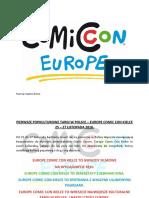Europe Comic Con Kielce 2016 Informacja Prasowa