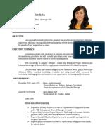 Bautista Queen Josa Resume