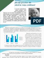 Aplicatii Practice Ale Matematicii Doc.