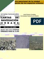 """Jose Antonio Corraliza - Jornadas """"Cartas de Navegación Urbana"""""""