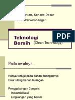teknologi bersihteknologi bersih