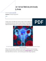 Ovarian Cancer -Article