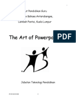 The Art of Powerpointing