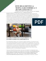 Hipertrofia Sarcomérica y Sarcoplasmática