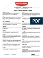 Glossary - Casting Terms