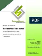Instructivo de Recuperacion de Datos General