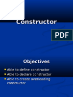 Introduction to Java Programming - Constructor